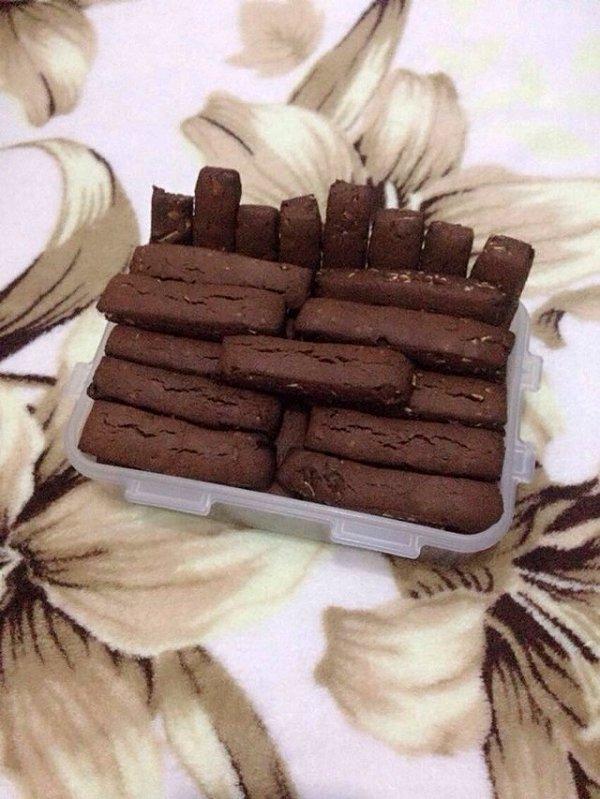 杏仁巧克力棒的做法