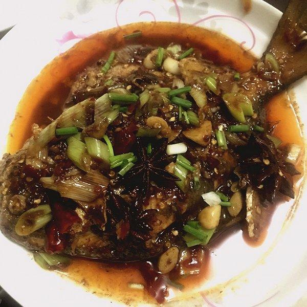 candy菲出山的红烧鲳鱼#嗨MilK下厨做法#淮山做法红萝卜排骨汤食谱图片