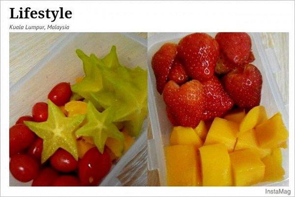蓝月的简单水果拼盘做法的学习成果照 豆果美食