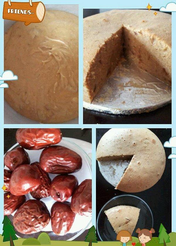 香气腾腾的枣泥蛋糕的做法