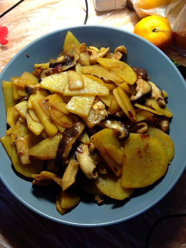 香菇土豆丝的做法