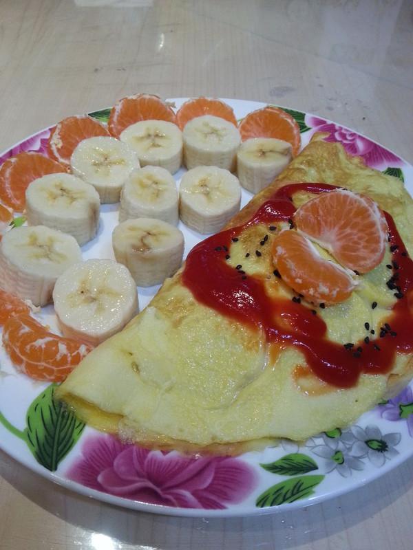 菠萝蛋包饭的做法