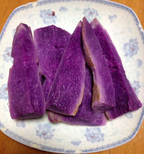 开心紫薯的做法