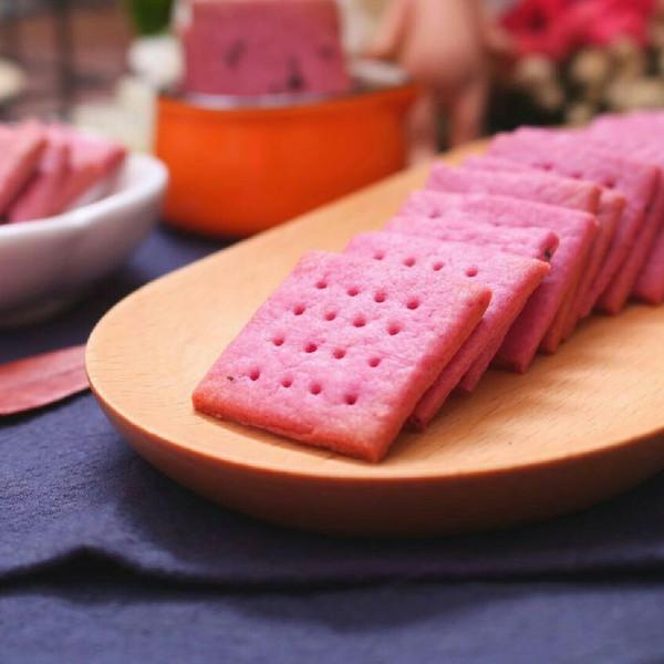 紫薯饼干的做法