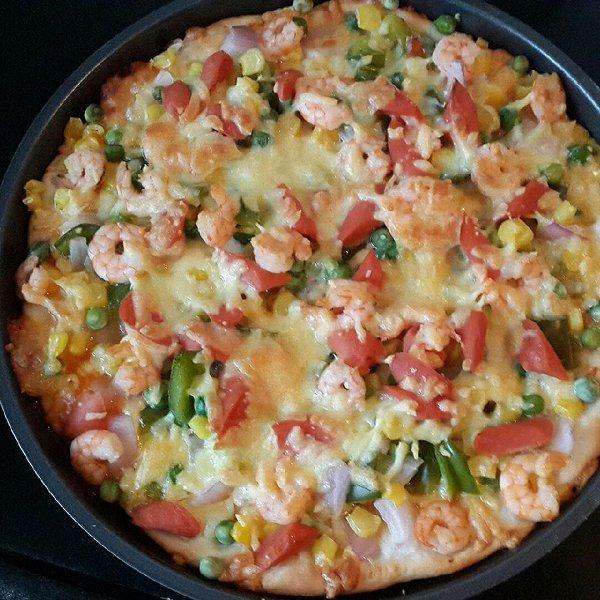 9寸海鲜披萨(匹萨)