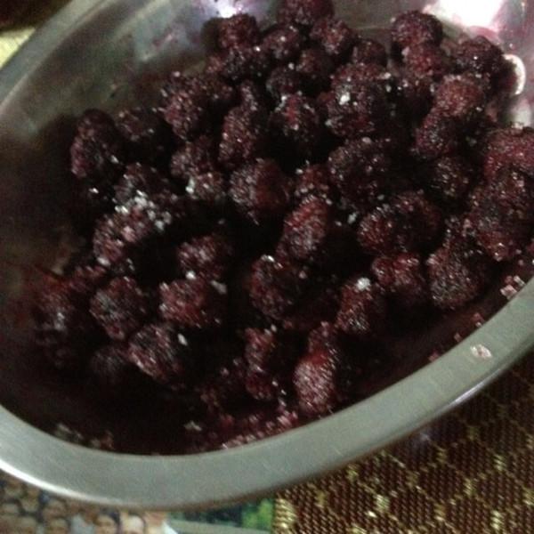 小阿嘟的妈妈的杨梅蜜饯做法的学习成果照 豆果美食