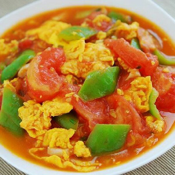 鸡胸西红柿炒鸡蛋的青椒做法肉可以经常吃吗图片