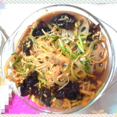 凉拌什锦菜的做法