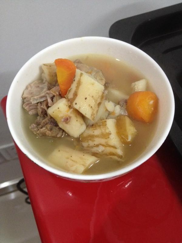 玉米山药排骨汤的做法