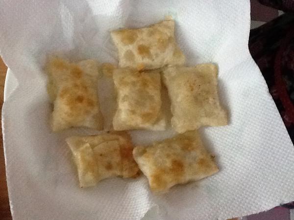 正方形饺子步骤