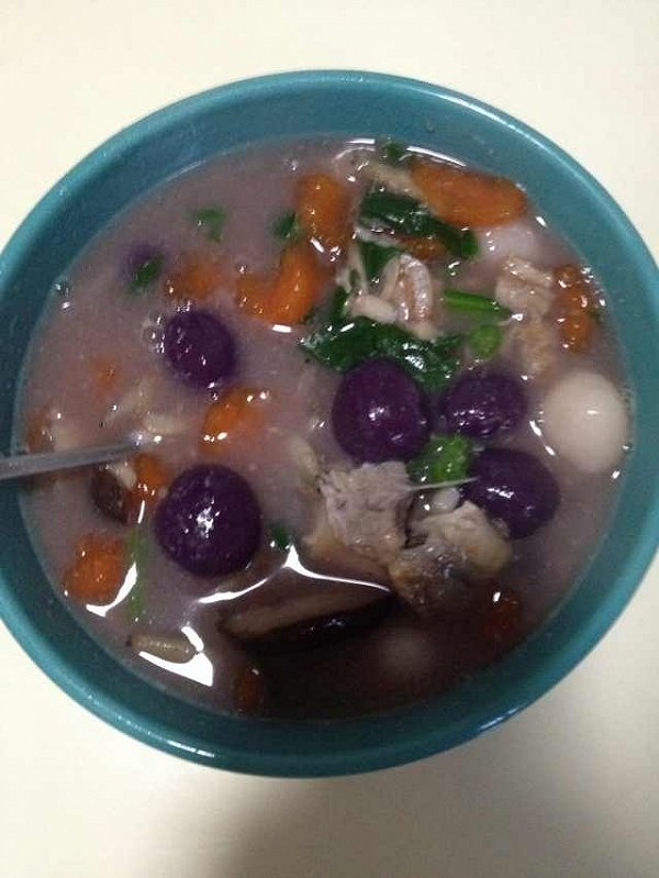 芋圆水果冰的做法