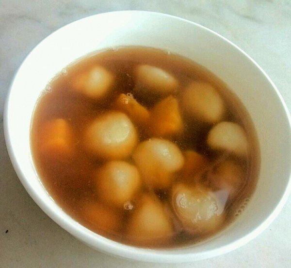 红豆紫薯汤圆的做法