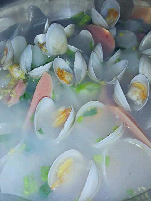 白蛤冬瓜汤的做法