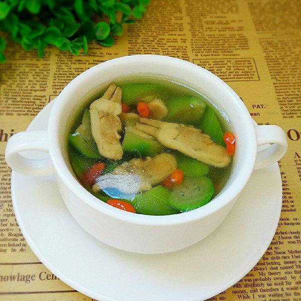 丝瓜海蛏汤