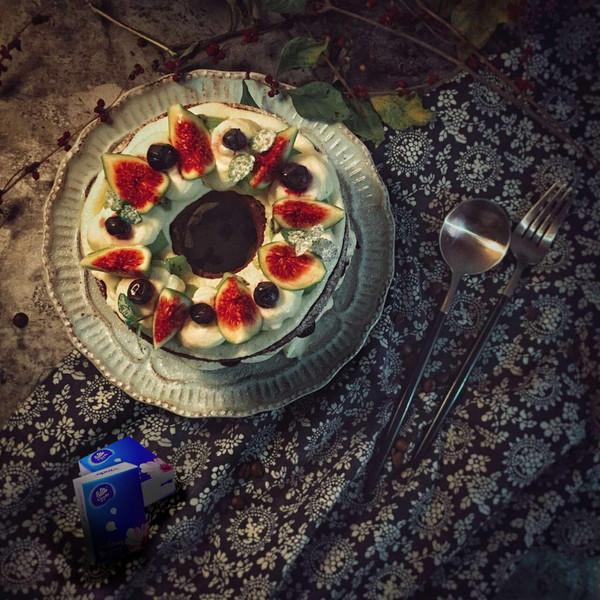 #烘焙私房班#无花果裸蛋糕的做法