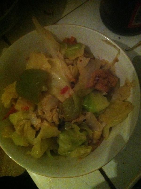 小艺艺的成果的炒菜谱鸡蛋的v成果果肉照_豆做法蛤白菜汤图片