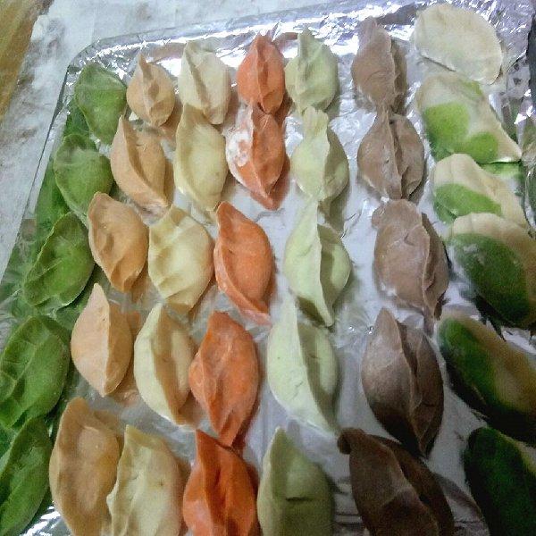 陶瓷艺术★家的七彩水饺做法的学习成果照_豆果美食
