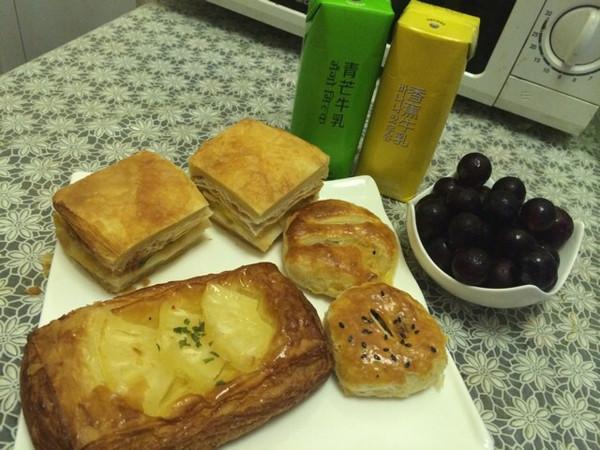 小苗苗yimo做的西式早餐的做法