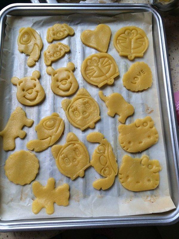 转角gl的动物曲奇饼干做法的学习成果照