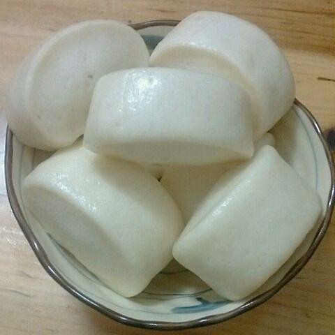 刀切奶香馒头的做法