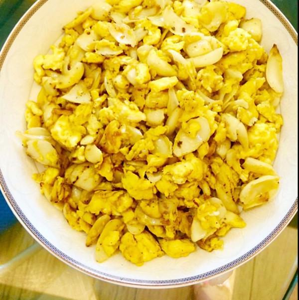 Ynn826做的菜品炒鸡蛋的百合意境做法装盘v菜品课哪里学图片