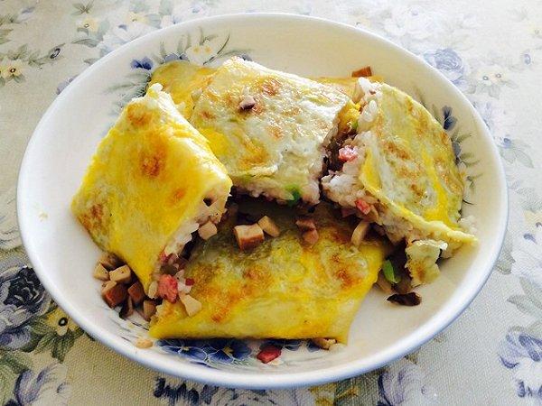 沉甸甸cc的武汉三鲜豆皮做法的学习成果照 豆果美食