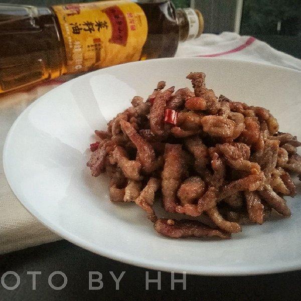 干炸牛肉#金龙鱼外婆乡小榨菜籽油 最强家乡菜#的做法