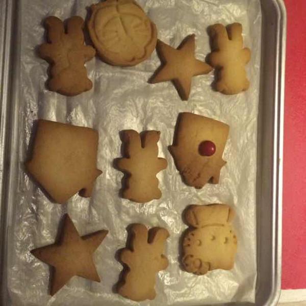 白痴仔做的动物曲奇饼干的做法