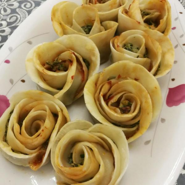 zeal的玫瑰饺子做法的学习成果照