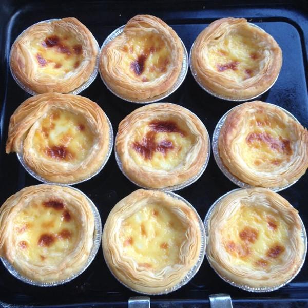 璐璐妈手工烘焙做的葡式蛋挞的做法_豆果美食