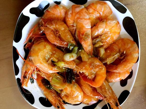 侯妈的红烧大虾做法的学习成果照