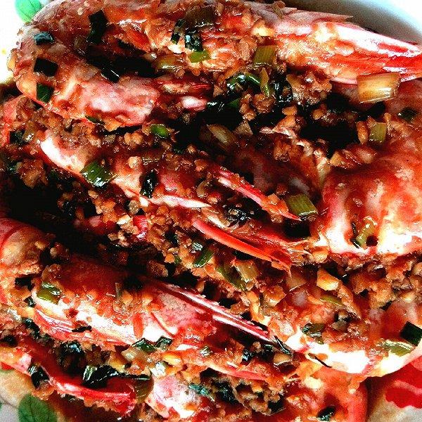 紫竹馨雨yhgx的红烧大虾做法的学习成果照