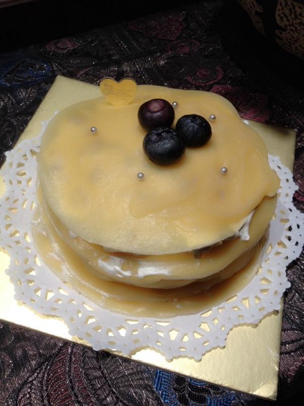 的榴莲千层蛋糕做法的学习成果照