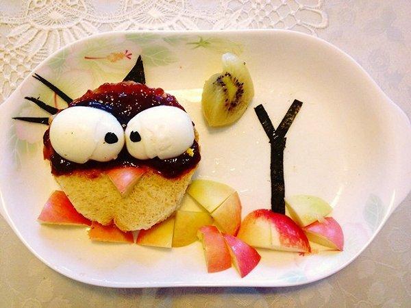 愤怒的小鸟儿童早餐