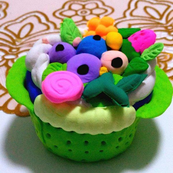 粘土水果蛋糕