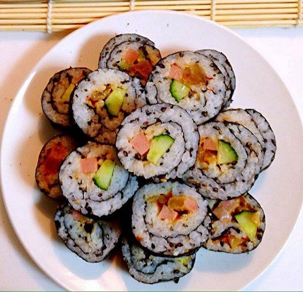 美味寿司 韩国紫菜包饭 饭团