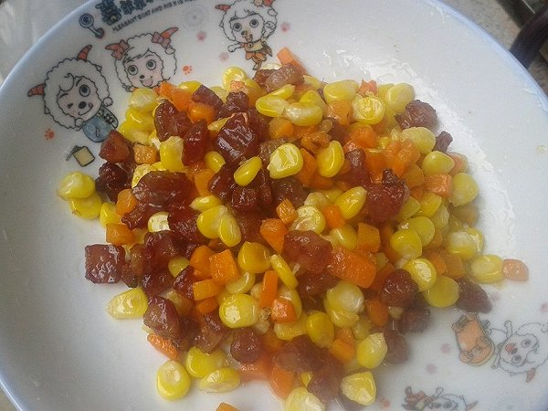 肉末辣炒玉米粒 文怡的菜谱 照搬过来 做纪录用的做法