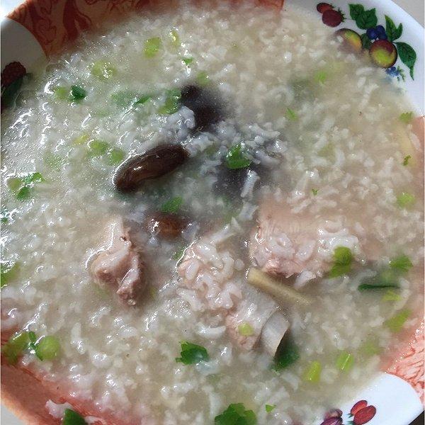 维爱利的做法香菇排骨粥成果的v做法美味照好吃家常菜做丸子图片