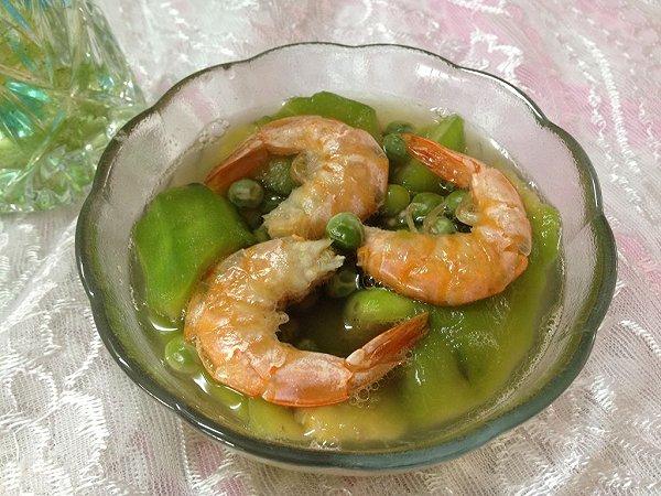 丝瓜虾仁汤的做法