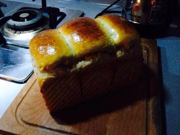 北海道面包(无汤种,简单版)的做法