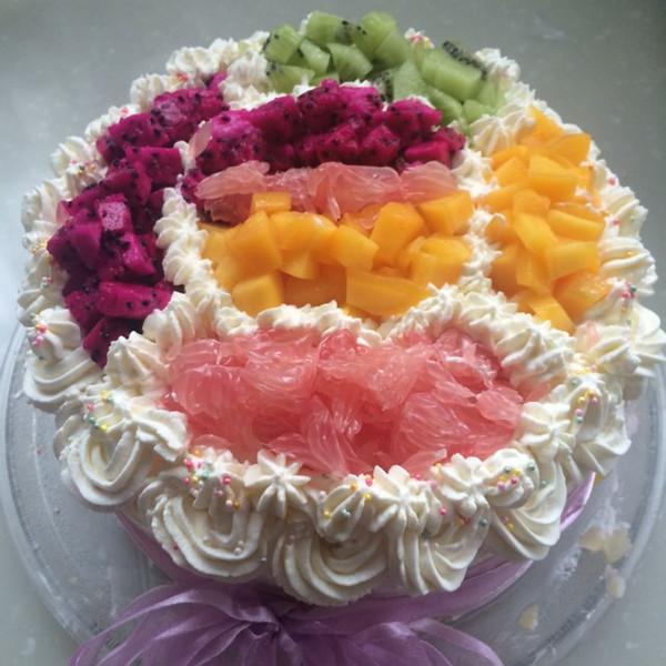 素青溪的蛋糕做法的学习成果照_豆果美食
