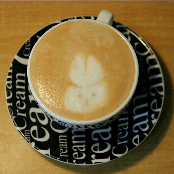 的咖啡拉花的做法