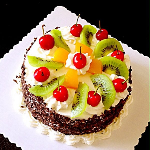 荣儿67的水果蛋糕做法的学习成果照