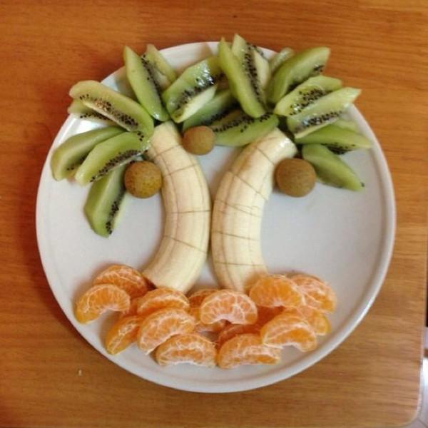 创意水果拼盘的做法图片