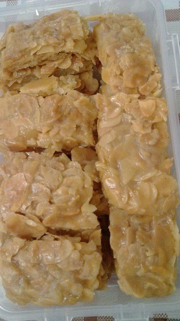 焦糖杏仁饼干的做法