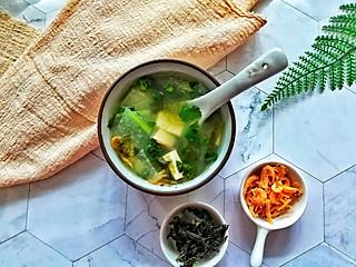 馨心杨的紫菜海米冬瓜豆腐汤