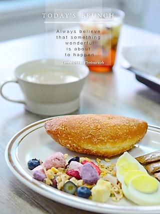 Tina厨房日记的今日份早餐