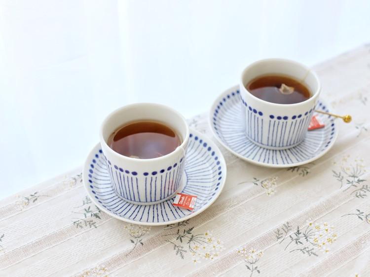 适合情侣の快手早餐,第七款面包拼盘+早餐红茶图3