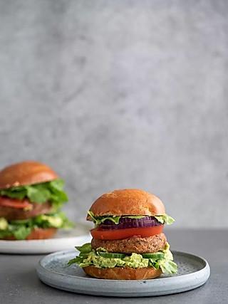 Plantcept蔬食煮义的有了这食谱,以后吃汉堡再也不会有罪恶感了🍔