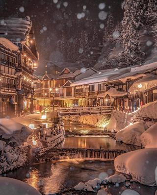 小玉Doris的日本旅行 | 千与千寻原型🌸绝美银山温泉